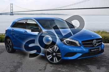 Mercedes-Benz A Class A200 (2.1) CDI Sport 5dr Auto in South Seas Blue at Mercedes-Benz of Hull