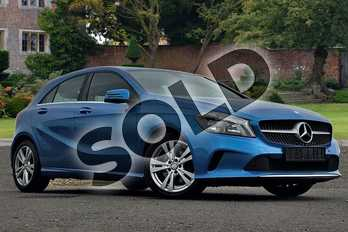 Mercedes-Benz A Class A180 Sport 5dr Auto in South Seas Blue at Mercedes-Benz of Lincoln
