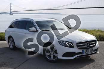 Mercedes-Benz E Class E220d SE 5dr 9G-Tronic in Polar White at Mercedes-Benz of Hull