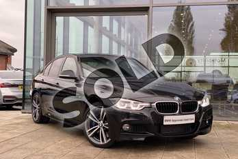 BMW 3 Series 335d xDrive M Sport 4dr Step Auto in Black Sapphire metallic paint at Listers King's Lynn (BMW)