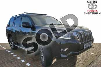 Toyota Land Cruiser 2.8 D-4D Invincible 5dr Auto 7 Seats in Galaxy Black at Listers Toyota Cheltenham