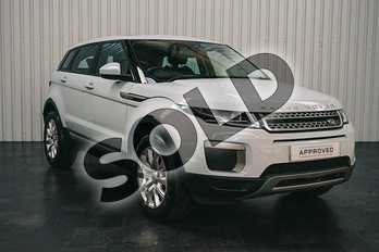 Range Rover Evoque 2.0 eD4 (150hp) SE in Baltoro Ice at Listers Land Rover Solihull