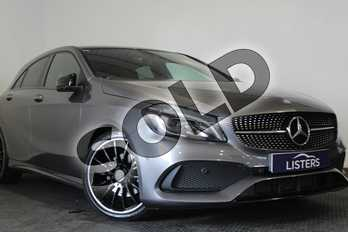 Mercedes-Benz A Class A200d AMG Line Premium Plus 5dr Auto in Metallic - Mountain grey at Listers U Stratford-upon-Avon