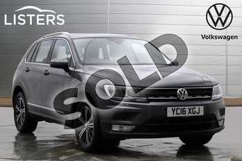 Volkswagen Tiguan 2.0 TDI 150 4Motion SE Nav 5dr in Indium Grey at Listers Volkswagen Worcester
