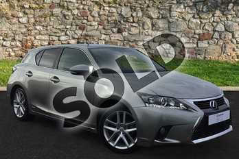 Lexus CT 200h 1.8 Advance 5dr CVT Auto in Sonic Titanium at Lexus Coventry