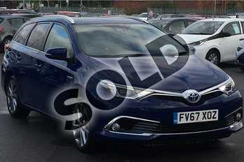 Toyota Auris 1.8 Hybrid Excel TSS 5dr CVT (Leather) in Lunar Shadow at Listers Toyota Lincoln