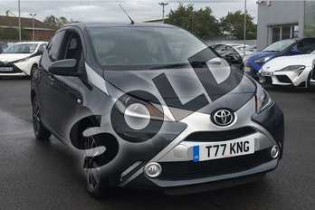 Toyota AYGO 1.0 VVT-i X-Style 5dr in Electro Grey at Listers Toyota Lincoln