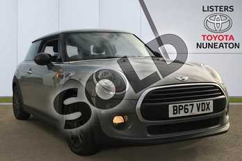 MINI Hatchback 1.5 Cooper 3dr in Grey at Listers Toyota Nuneaton
