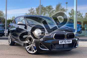 BMW X2 M35i 5dr Step Auto in Black Sapphire metallic paint at Listers King's Lynn (BMW)