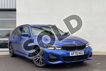 BMW 3 Series 320d M Sport 5dr Step Auto in Portimao Blue at Listers King's Lynn (BMW)