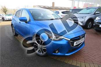Mazda 2 1.5 115 Sport Nav 5dr in Mica - Dynamic Blue at Listers Toyota Grantham