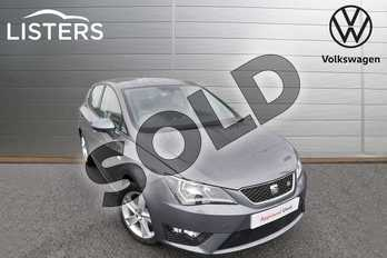 SEAT Ibiza 1.2 TSI 90 FR Technology 5dr in Monsoon Grey at Listers Volkswagen Worcester