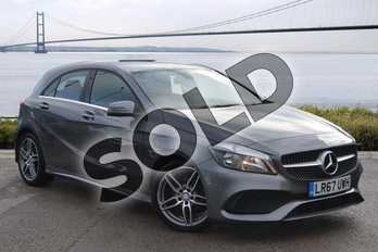 Mercedes-Benz A Class A200d AMG Line 5dr in Mountain Grey at Mercedes-Benz of Hull