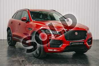 Jaguar F-PACE 2.0d R-Sport 5dr Auto AWD in Firenze Red at Listers Jaguar Solihull