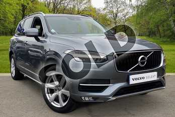 Volvo XC90 2.0 D5 PowerPulse Momentum 5dr AWD Geartronic in Osmium Grey at Listers Volvo Worcester