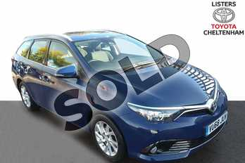 Toyota Auris 1.2T Icon Tech TSS 5dr in Blue at Listers Toyota Cheltenham