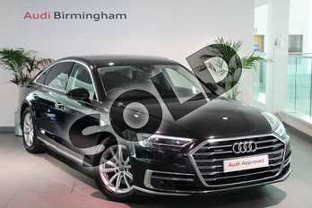 Audi A8 50 TDI Quattro 4dr Tiptronic in Myth Black Metallic at Birmingham Audi