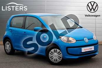Volkswagen Up 1.0 Move Up 5dr ASG in Mayan Blue at Listers Volkswagen Nuneaton