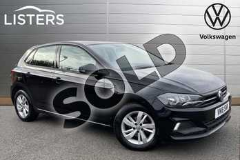 Volkswagen Polo 1.0 TSI 95 SE 5dr in Deep Black at Listers Volkswagen Stratford-upon-Avon