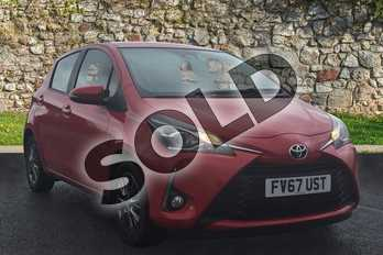 Toyota Yaris 1.5 VVT-i Icon 5dr in Chilli Red at Listers Toyota Grantham