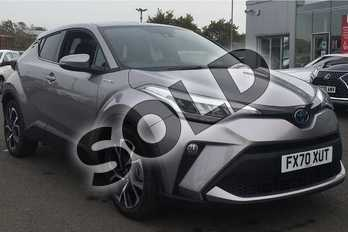 Toyota C-HR 1.8 Hybrid Design 5dr CVT in Metal Stream at Listers Toyota Lincoln