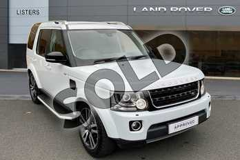Land Rover Discovery 3.0 SDV6 Landmark 5dr Auto in Yulong White at Listers Land Rover Hereford