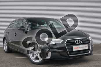 Audi A3 1.4 TFSI Sport 5dr in Brilliant Black at Coventry Audi