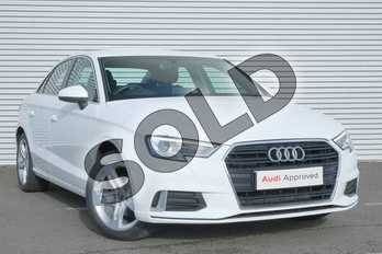 Audi A3 1.5 TFSI Sport 4dr S Tronic in Ibis White at Coventry Audi