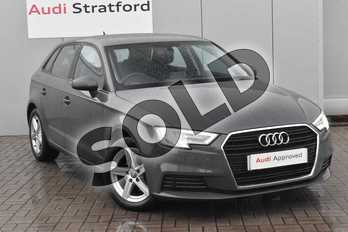 Audi A3 30 TFSI 116 SE Technik 5dr in Nano Grey Metallic at Stratford Audi