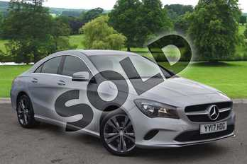 Mercedes-Benz CLA CLA 220d (177) Sport 4dr Tip Auto in polar silver metallic at Mercedes-Benz of Hull