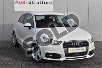 Audi A1 1.0 TFSI Sport 3dr in Shell White at Stratford Audi