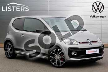 Volkswagen Up 1.0 115PS Up GTI 3dr in Tungsten Silver at Listers Volkswagen Nuneaton