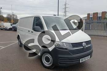 Volkswagen Transporter 2.0 TDI 110 Startline Van in White at Listers Volkswagen Van Centre Coventry