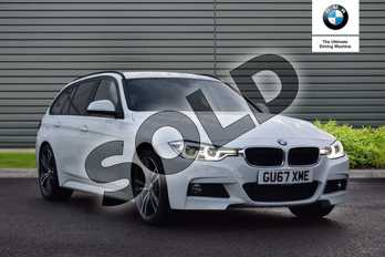BMW 3 Series 320d M Sport 5dr Step Auto in Alpine White at Listers Boston (BMW)