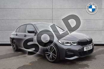 BMW 3 Series 320d M Sport 4dr Step Auto in Mineral Grey at Listers Boston (BMW)