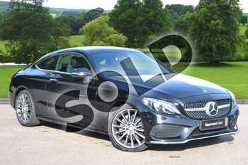 Mercedes-Benz C Class C220d AMG Line Premium 2dr Auto in Obsidian Black Metallic at Mercedes-Benz of Grimsby
