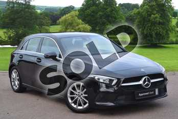 Mercedes-Benz A Class A180d Sport Executive 5dr Auto in Cosmos Black Metallic at Mercedes-Benz of Grimsby