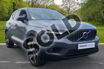 Volvo XC40 2.0 D3 R DESIGN Pro 5dr Geartronic in Thunder Grey at Listers Volvo Worcester