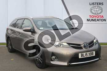 Toyota Auris 1.8 VVTi Hybrid Icon+ 5dr CVT Auto in Brown at Listers Toyota Nuneaton