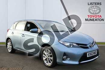 Toyota Auris 1.6 V-Matic Icon 5dr Multidrive S in Blue at Listers Toyota Nuneaton