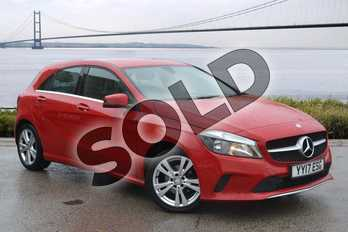 Mercedes-Benz A Class A180d Sport Executive 5dr in Jupiter Red at Mercedes-Benz of Hull