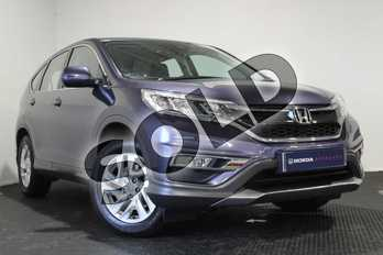 Honda CR-V 1.6 i-DTEC 160 SE 5dr in Twilight Blue at Listers Honda Stratford-upon-Avon