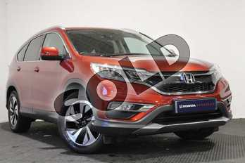 Honda CR-V 1.6 i-DTEC 160 SR 5dr in Passion Red at Listers Honda Stratford-upon-Avon