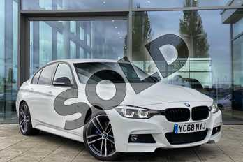 BMW 3 Series 320d M Sport Shadow Edition 4dr Step Auto in Alpine White at Listers King's Lynn (BMW)