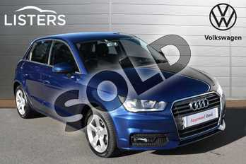 Audi A1 1.0 TFSI Sport Nav 5dr in Scuba Blue at Listers Volkswagen Evesham