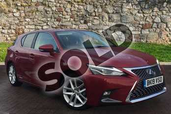 Lexus CT 200h 1.8 5dr CVT in Mesa Red at Lexus Coventry