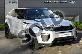 Range Rover Evoque 2.0 TD4 HSE Dynamic 3dr Auto in Indus Silver at Listers Land Rover Droitwich