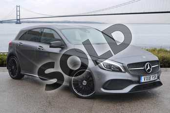 Mercedes-Benz A Class A200d AMG Line Premium 5dr Auto in Mountain Grey at Mercedes-Benz of Hull