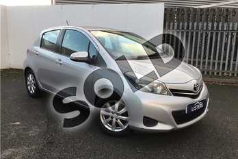 Toyota Yaris 1.33 VVT-i TR 5dr Multidrive S in Metallic - Tyrol silver at Listers U Solihull