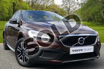 Volvo V40 T3 (152) Cross Country 5dr in Rich Java at Listers Volvo Worcester